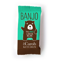 Banjo The Mint Carob Bear 15g THE CAROB KITCHEN