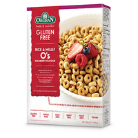 Rice & Millet O's – Wildberry Flavour 300G ORGRAN