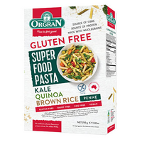 Superfood Pasta Penne – Kale, Quinoa & Brown Rice 250G ORGRAN