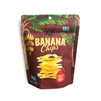 BANANA JOE Banana Chips Hickory BBQ - 46.8g