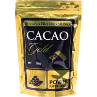 POWER SUPER FOODS Cacao Gold Butter (Chunks) - 250g