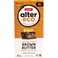 ALTER ECO Chocolate (Organic) Dark Salted Brown Butter - 80g