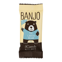 Banjo The Vegan Carob Bear 15g THE CAROB KITCHEN