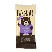 Banjo The Vegan Coconut Carob Bear 15g THE CAROB KITCHEN